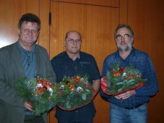Jubilare 25 Jahre SDP/SPD