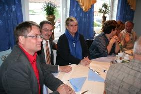 Sitzung mit Bürgermeister Erwig
